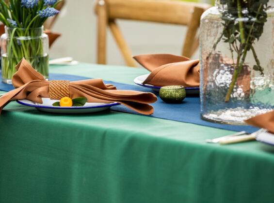 Forest Green Table Cloths