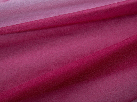 Merlot Red Organza