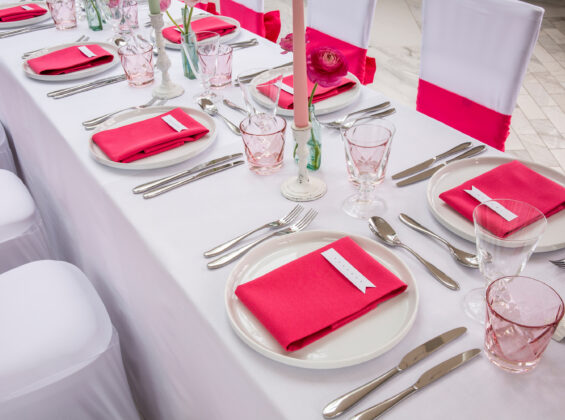 Pink Fuchsia napkins