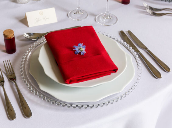 Poppy Red Napkin