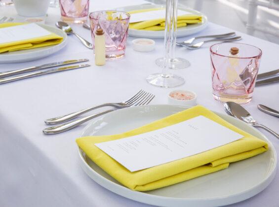 Sicilian Lemon napkins