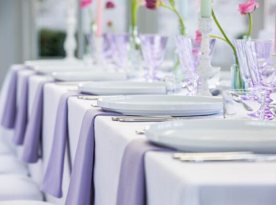 Summer Lavender napkins