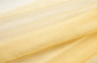 Honeycomb Gold Organza